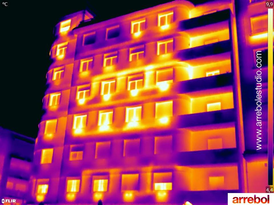 Imagen termográfica flir T540