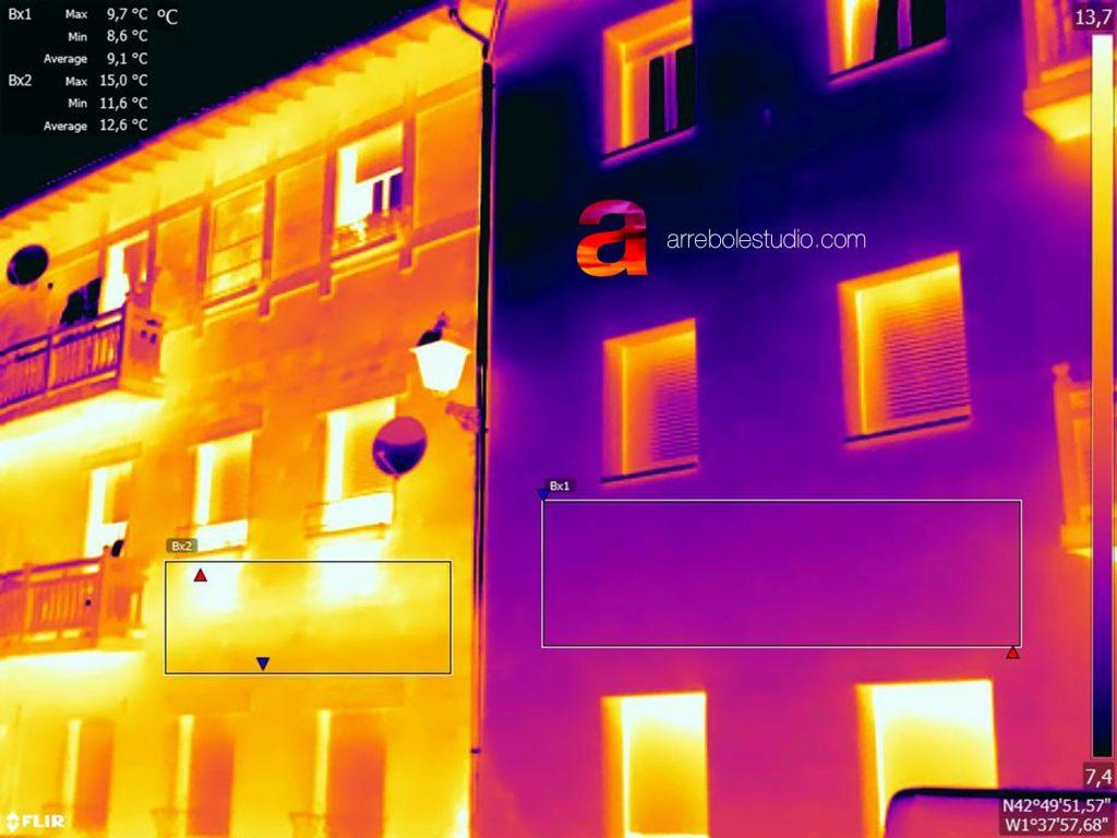 termografiá arrebol en la chantrea
